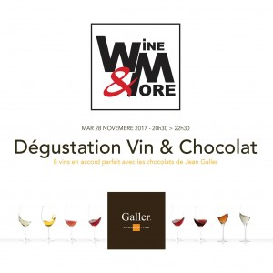 "Dégustation ""Chocolat Galler & Vin"" @ Wine and More  | Seneffe | Wallonie | Belgique"