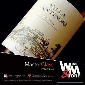 "Masterclass ""Antinori"" - Les grands vins toscans (Italie) @ Wine and More  | Namur | Wallonie | Belgique"