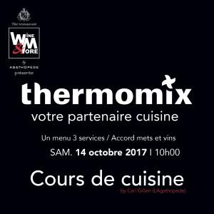 Cours de cuisine avec Carl Gillain - Thermomix @ Wine and More | Erpent | Belgique