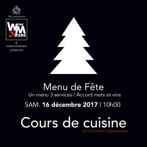 Cours de cuisine avec Carl Gillain - Menu de fête @ Wine and More | Namur | Wallonie | Belgique