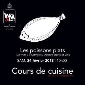 Cours de cuisine avec Carl Gillain - Poissons @ Wine and More  | Namur | Wallonie | Belgique