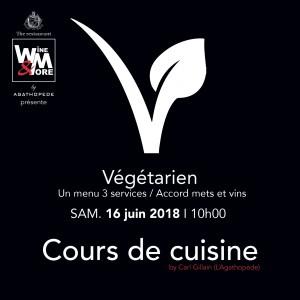 Cours de cuisine avec Carl Gillain - Végétarien @ Wine and More | Namur | Wallonie | Belgique