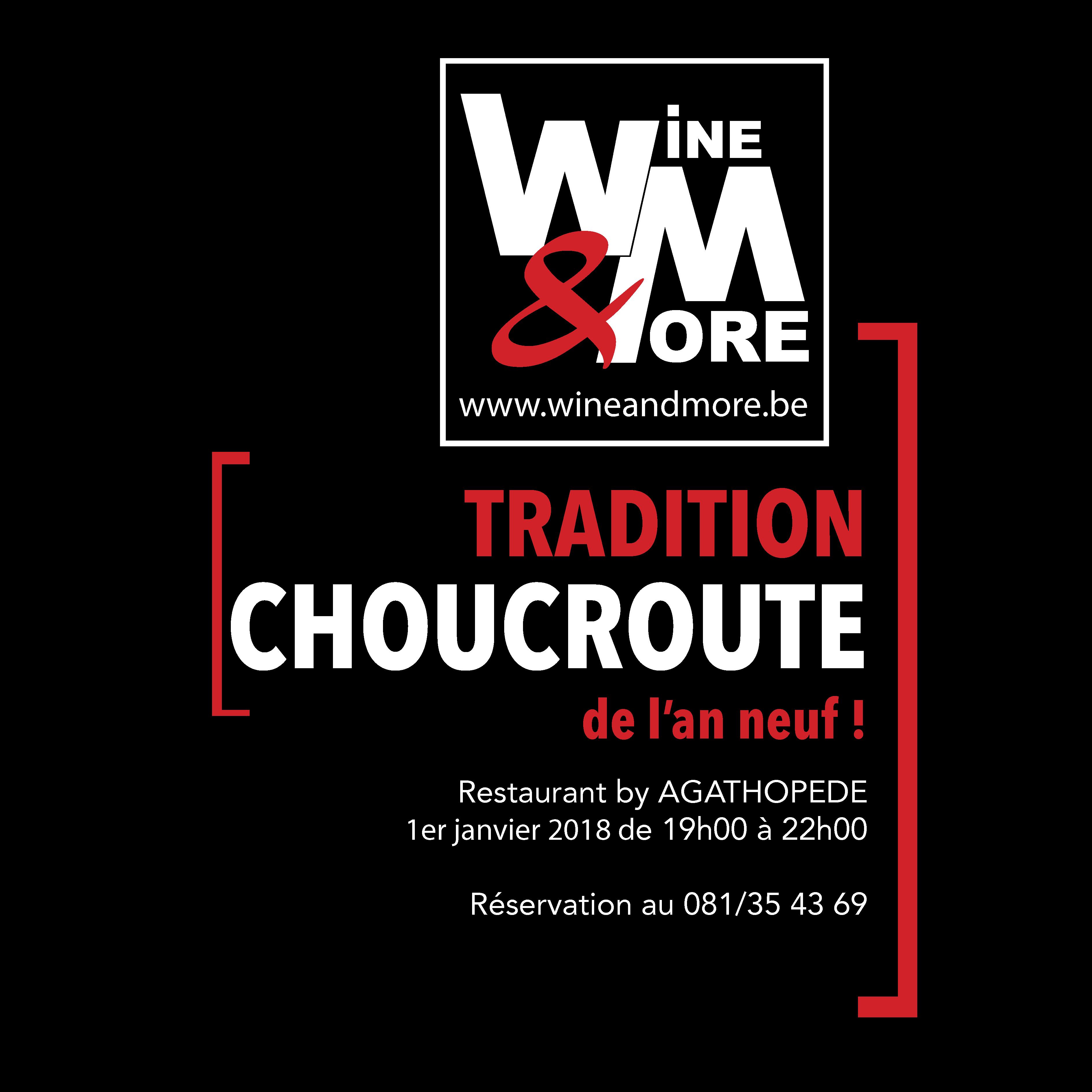Choucroute de l'an neuf ! @ Wine and More | Namur | Wallonie | Belgique
