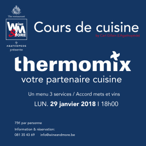 cours de cuisine avec carl gillain thermomix wine more. Black Bedroom Furniture Sets. Home Design Ideas