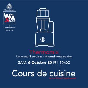 Cours de cuisine avec Carl Gillain - Thermomix @ Wine and More   Namur   Wallonie   Belgique