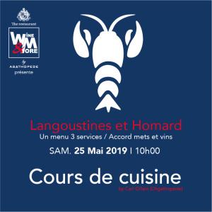 Cours de cuisine avec Carl Gillain - Langoustine et Homard @ Wine and More | Namur | Wallonie | Belgique