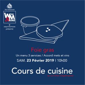 Cours de cuisine avec Carl Gillain - Foie Gras @ Wine and More | Namur | Wallonie | Belgique