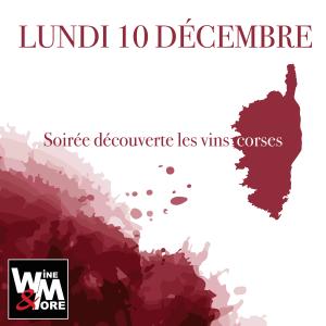 Soirée découverte - Les vins corses @ Wine  and More | Namur | Wallonie | Belgique