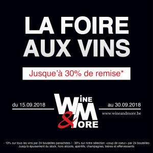La foire aux vins de septembre ! @ Wine and More   Namur   Wallonie   Belgique