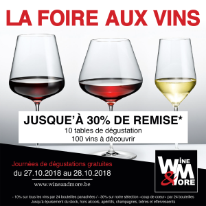 Foire aux vins ! Dégustation ! @ Wine and More   Namur   Wallonie   Belgique