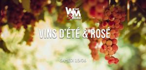 Salon des vins d'été et des rosés @ Wine and More