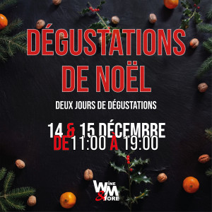 Dégustations de Noël @ Wine and More