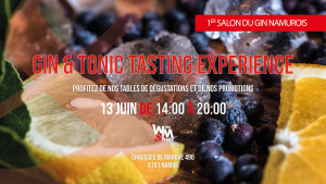 Gin & Tonic Tasting Experience - 1er Salon du Gin à Namur #2020 @ WIne and More