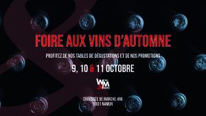 FOIRE AUX VINS D'AUTOMNE @ Wine and More