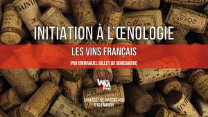 "Initiation à l'oenologie - Module 1 - ""La France"" @ Wine and More"