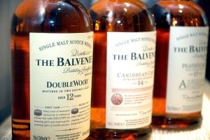 "Masterclass  ""The Balvenie,  Single Malt Scotch Whisky Crafted in Speyside"" @ Wine and More"