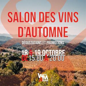 Salon des vins d'Automne @ Wine and More